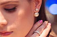 Серьги Диор Dior жемчужные, фото 1