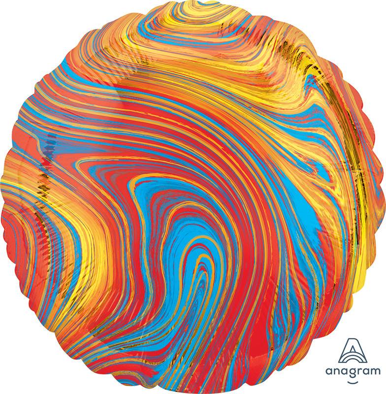 "А 18"" Marblez™ Colorful (Marblez™ Разноцветный)"