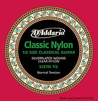 Струны D`ADDARIO EJ27N 1/2 STUDENT CLASSICS NORMAL TENSION 1/2