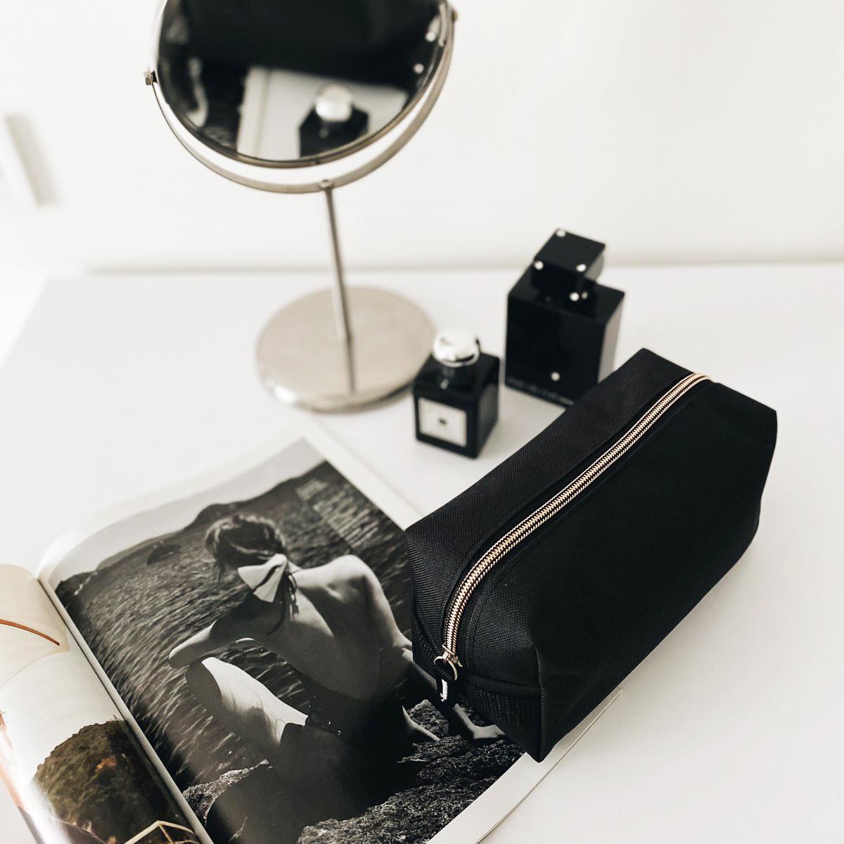 Большая косметичка ORGANIZE (черный)