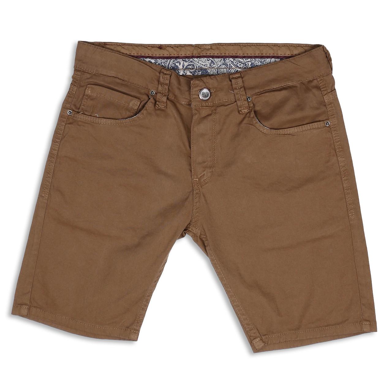 Шорты джинс коричневый MARIO BRN 31(Р) 0210