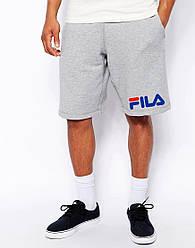 Мужские шорты FILA с синим принтом