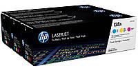 Тонер-картридж HP 128A CLJ CP1525/CM1415 CF371AM 3-Pack 1300 страниц