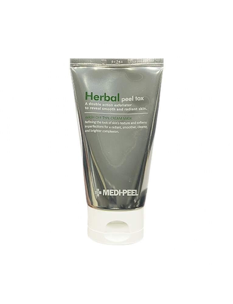 Очищающая пилинг-маска с эффектом детокса MEDI-PEEL Herbal Peel Tox Wash Off Type Cream Mask, 120g