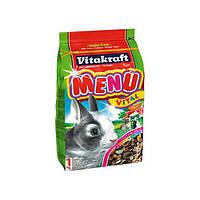 Корм для кроликов Vitakraft Menu, 0,5 кг, 25581