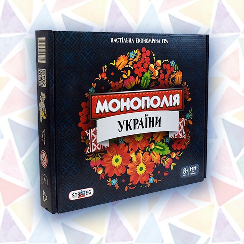 Игра Монополія України 7008 Strateg, монополия