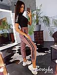 Женское трикотажное боди футболка (поло) с молнией на груди vN8027, фото 4