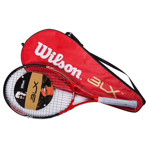 Ракетка для большого тенниса Wils для взрослых (карбон, 27 дюймов)
