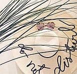 Женская пляжная шляпа с широкими полями и надписью Do not disturb vN8063, фото 5