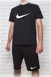 Мужской летний комплект Найк (шорты + футболка)