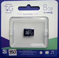 Карта памяти T&G 8GB MicroSD HC Class 10