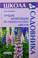 Лучшие композиции из многолетних цветов. Землякова Е.