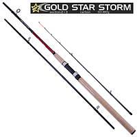 Спиннинг карповый штекерный STENSON Gold star storm 3.6 м 60-180 г 2+3к удочка
