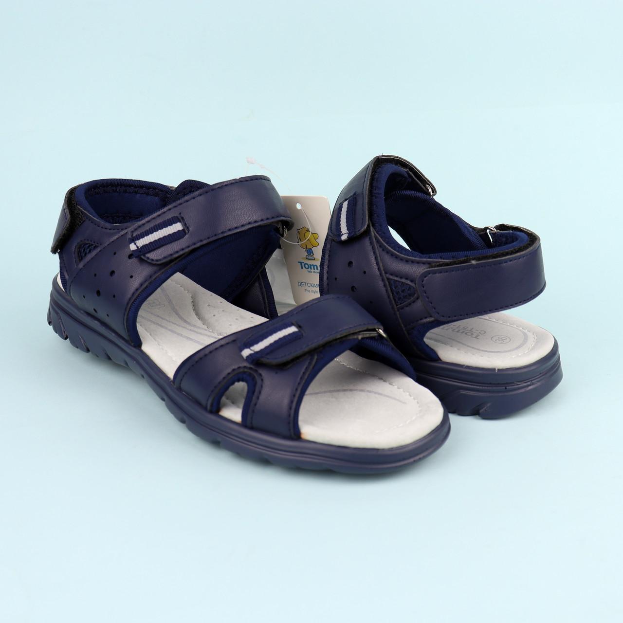 Подростковые сандалии босоножки для мальчика бренд TOMM размеры 36,37,38,40
