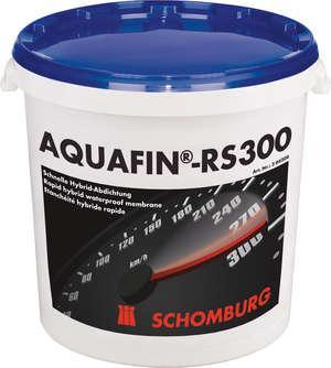 Aquafin RS300 (Аквафин РС300) Быстротвердеющая гибридная гидроизоляционная смесь