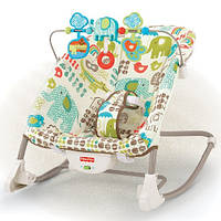 Кресло качалка шезлонг 2в1 Fisher Price Y5706