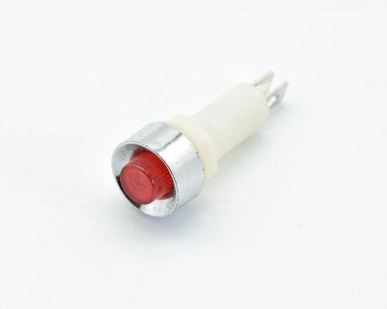 Панельный сигнальный индикатор NHC-10 (красный) 220V