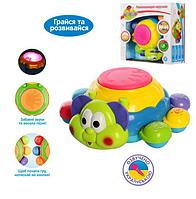 """Детская музыкальная игрушка игровой центр """"Танцующий жук"""" (звуки животных, цвета, режим заданий, светится)"""