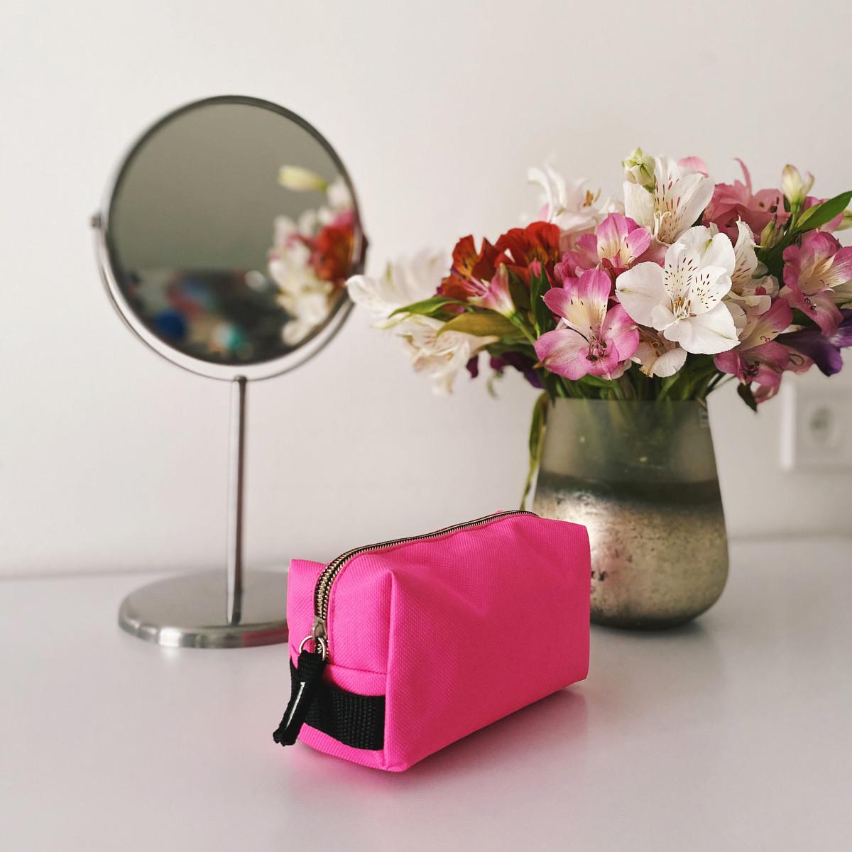Компактная косметичка ORGANIZE (розовый)