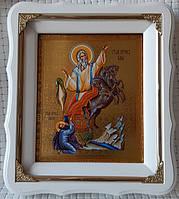 Огненное восхождение пророка Илии икона 21*24см