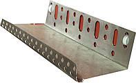 Профиль цокольный 53 мм алюминиевый  (стартовый)