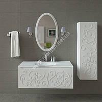 Комплект мебели для ванной комнаты Marsan Marsel 120 см белый