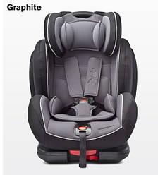 Детское безопасное автокресло Caretero Angelo FIX Isofix9-36кг (Графит)