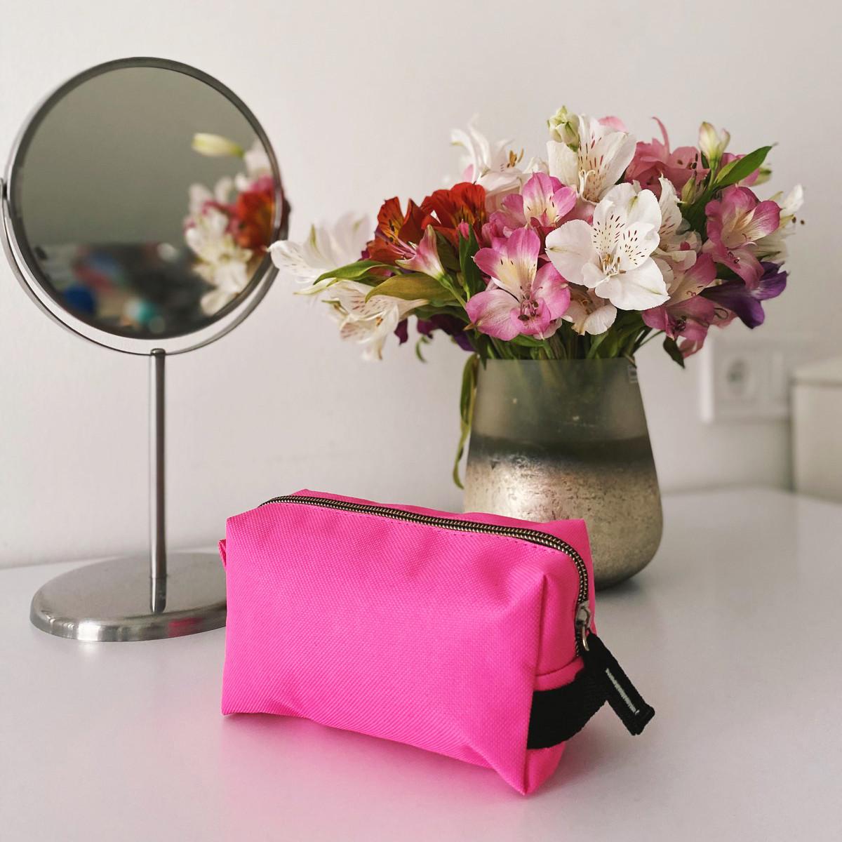 Большая косметичка ORGANIZE (розовый)