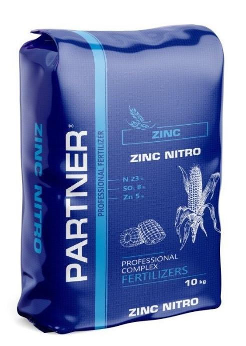Комплексное удобрение ПАРТНЕР ЦИНК НИТРО ( PARTNER СZINC NITRO) N 23+S 8+ZN 5 - фасовка 5кг,10 кг.
