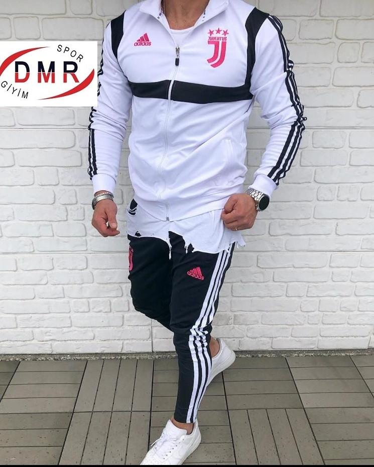 Мужской спортивный костюм белый