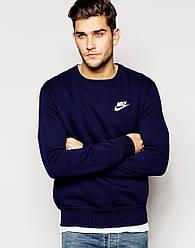 Мужской Свитшот Nike (маленький принт)