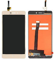Дисплей Xiaomi Redmi 3, 3 Pro, 3S, 3S Prime, 3X с тачскрином, оригинал, Gold, фото 1
