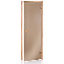 Двери для бани и сауны ANDRES Scan матовая 80х190