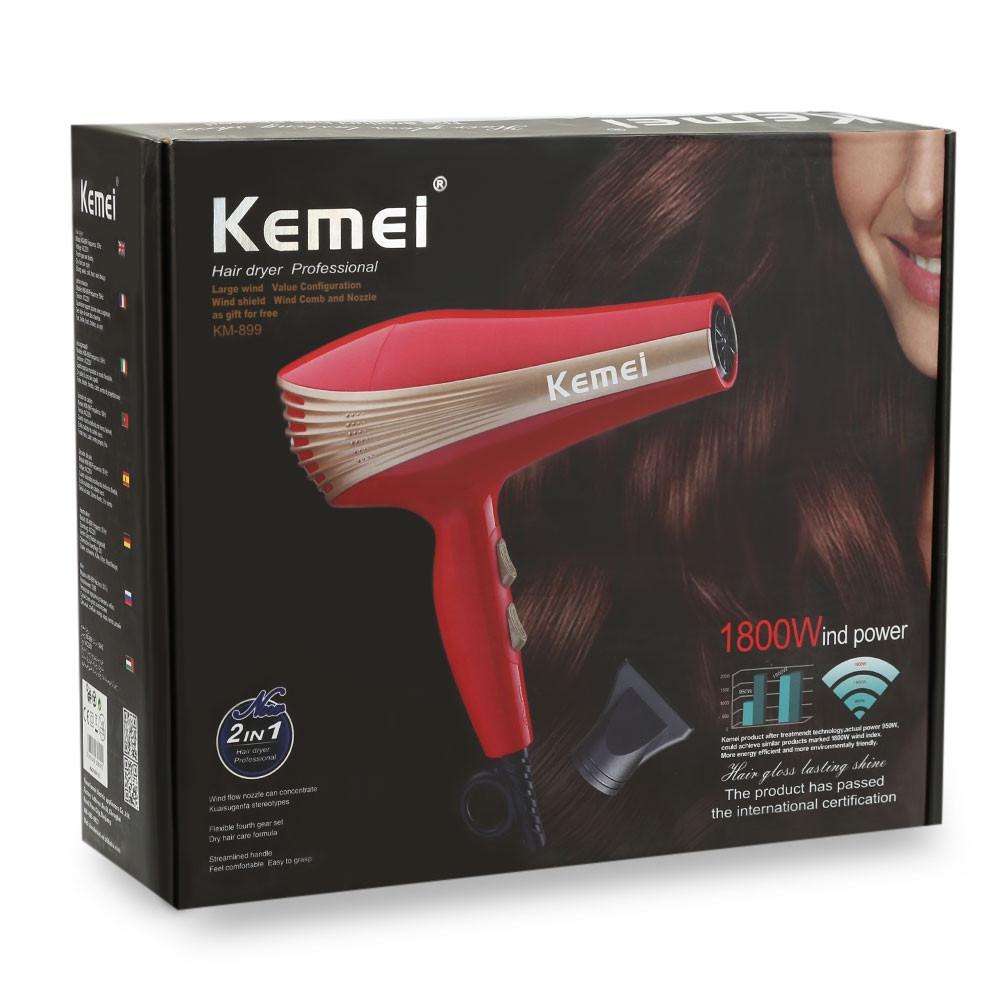 Фен для волос Kemei KM-899