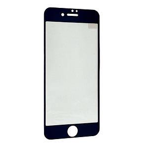 Защитное стекло  весь экран for Apple iPhone 7/8 Plus face (black)