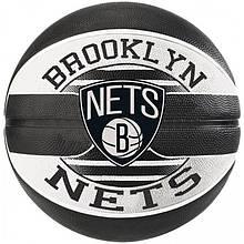 Мяч баскетбольный Spalding NBA Team Brooklyn Nets Size 7
