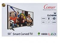 "Телевизор Comer 50"" Smart Android 7.1, 4k UHD"
