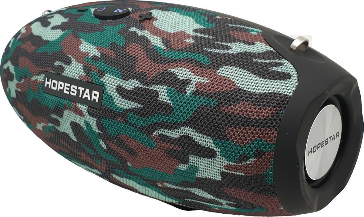 Портативная bluetooth колонка Hopestar H25 , 34Вт (Камуфляж)