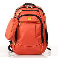 Рюкзак Міський нейлон Power In Eavas 5143 orange міські рюкзаки дешево оптом і в роздріб в Україні., фото 1