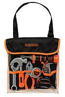 Оригинал. Набор инструментов в сумке игрушечных Black & Decker Smoby 360104