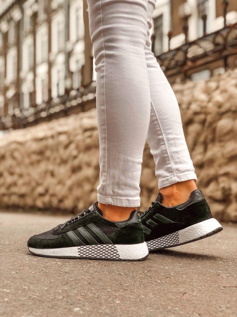 Кроссовки женские Adidas Marathon Tech. Стильные мужские кроссовки.