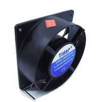 Бытовой осевой вентилятор Tidar 5-ти лопастной 120×120×38, 220В, 23Вт (квадрат-круг)