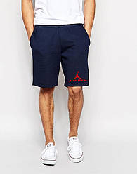 """Мужские шорты """"Jordan"""" т.синие"""
