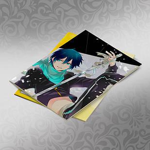 Скетчбук А5 кремовые листы Noragami 30 листов