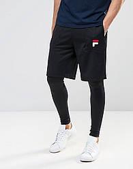Мужские шорты FILA черные