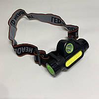 Аккумуляторный налобный фонарь BL-872