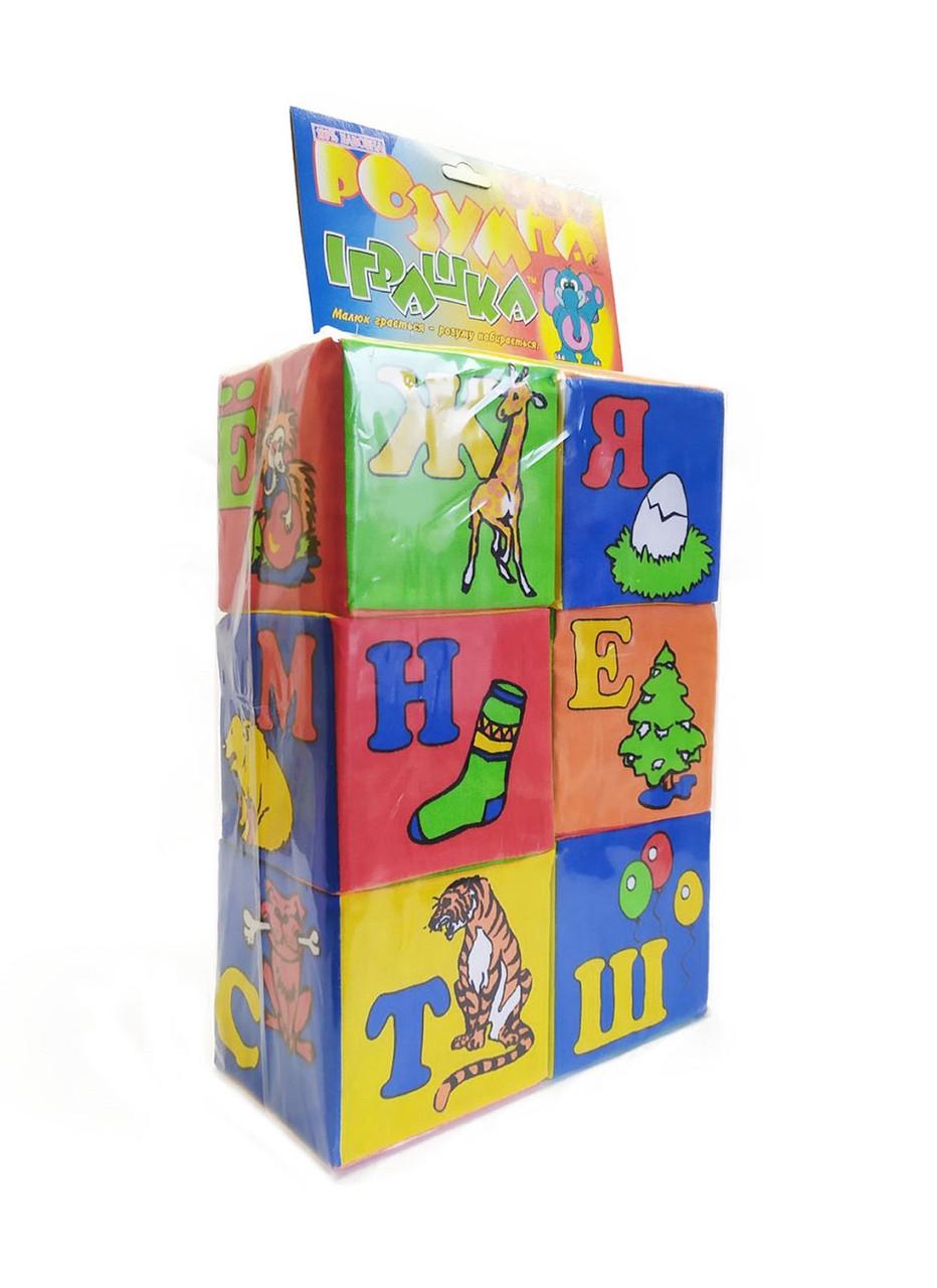 Мягкие развивающие кубики 0025(0027)