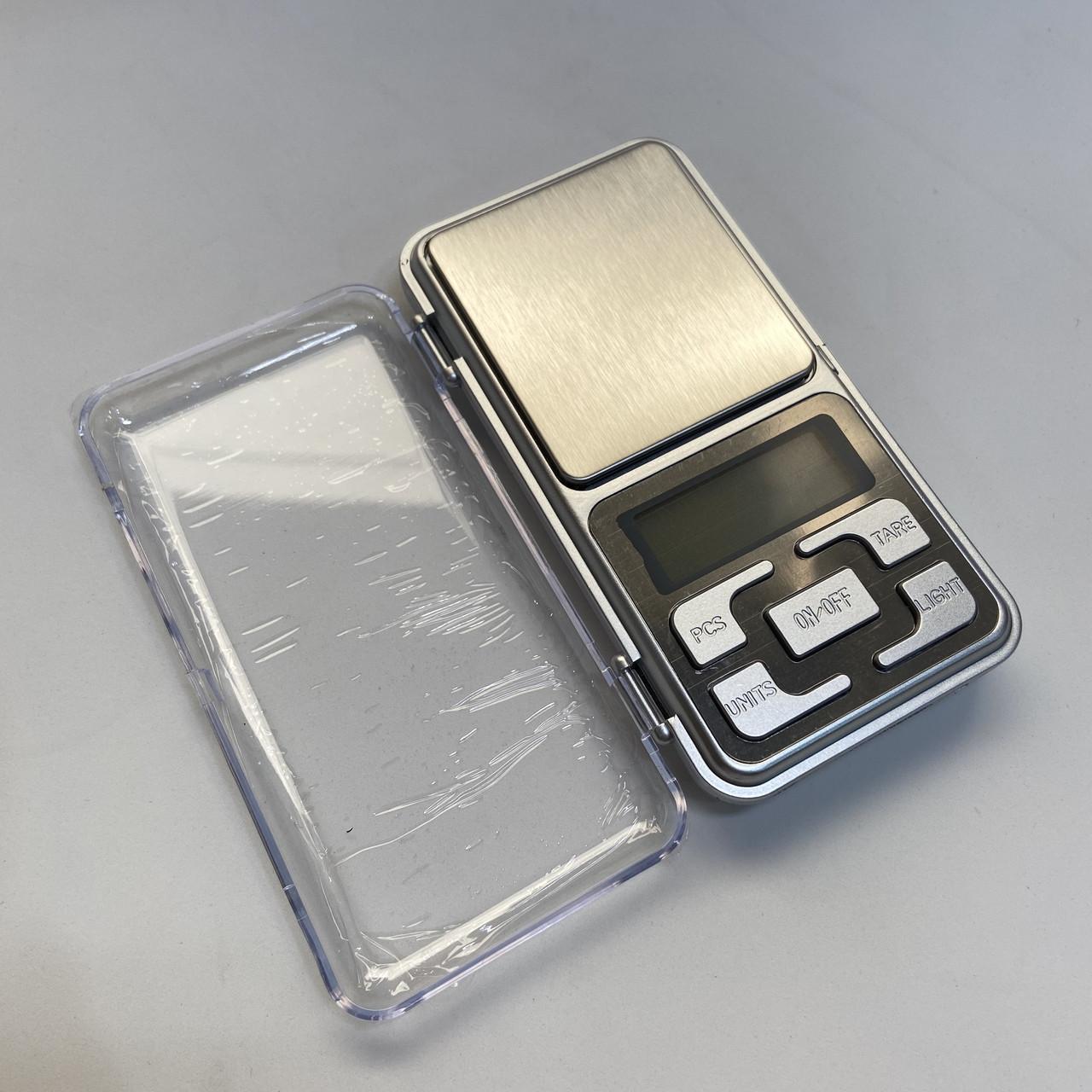 Карманные ювелирные электронные весы до 200 грамм