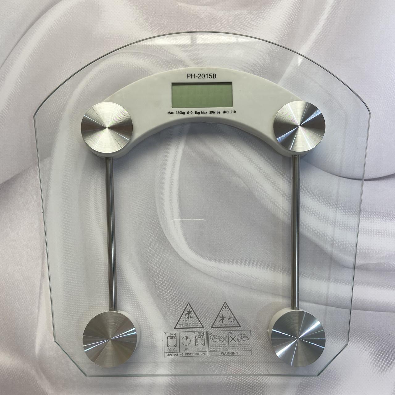 Весы квадратные электронные напольные до 180кг