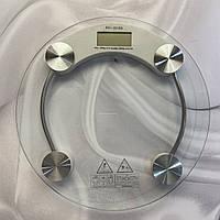 Весы круглые электронные напольные до 180кг